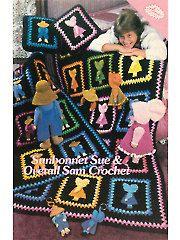 Crochet Books - Sunbonnet Sue & Overall Sam Crochet