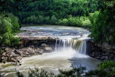 Kentucky Day Trips...#13. Witness Beauty At Cumberland Falls State Resort Park