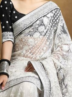 Saree for the modern women.Must see Indian Sari, Latest Elegant Indian Sari or Latest Elegant Saree Go to above link to see more . Indian Attire, Indian Wear, Indian Outfits, Indian Dresses, Pakistani Dresses, New Saree Designs, Saree Blouse Designs, Sari Blouse, India Fashion