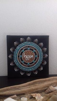 Mandala Hope 3D Pointillisme