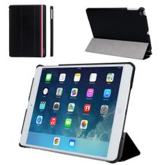 Hot sale ! Smart Case For iPad Air Cover Stand Tablet Designer Ultra thin Leather Cover For Apple iPad 5 ipad air Case Free Ship $16.99