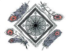 Zondiac Mandala Flick Palmateer Etsy Felicity Palmateer, Zentangles, Salt, Backgrounds, Objects, Doodles, Mid Century, Artsy, Colorful