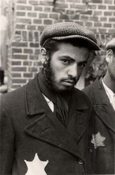 A strapping young Jewish man in WWII. Such an appalling waste of humanity.