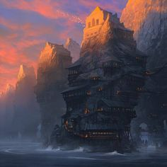 Art by Noah Bradley*   • Blog/Website | (www.noahbradley.com)  • Online Store | (https://www.inprnt.com/gallery/noahbradley)  ★ || CHARACTER DESIGN REFERENCES™ (https://www.facebook.com/CharacterDesignReferences & https://www.pinterest.com/characterdesigh) • Love Character Design? Join the #CDChallenge (link→ https://www.facebook.com/groups/CharacterDesignChallenge) Share your unique vision of a theme, promote your art in a community of over 50.000 artists! || ★