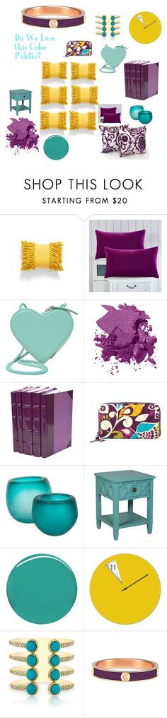 """Grape Day In The Morning"" by bizzybell ❤ liked on Polyvore featuring interior, interiors, interior design, home, home decor, interior decorating, Levtex, Christopher Kane, Bobbi Brown Cosmetics and Vera Bradley"