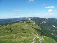 Le Mont Rond par télésiège de Val Mijoux et télécombi au Col de la Faucille