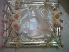 wedding trousseau shoe tray :D