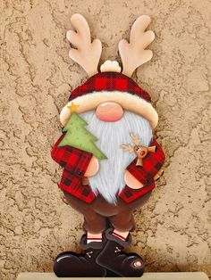 Christmas Wood Crafts, Christmas Gnome, Christmas Signs, Christmas Pictures, Rustic Christmas, Christmas Art, Christmas Projects, Winter Christmas, Christmas Decorations