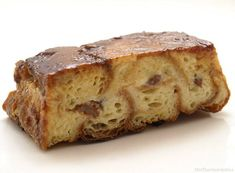 Pudin con croissants - MisThermorecetas.com Croissants, Tapas, Banana Bread, Pudding, Desserts, Cupcake, Food, Drinks, Buns