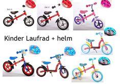 Laufrad + Fahrradhelm Kinderlaufrad Roller Kinder Fahrrad Lernlaufrad  Kinderrad