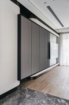 ideas for living room decor contemporary tv units Home Modern, Living Room Modern, Living Room Interior, Modern Interior, Home Interior Design, Interior Architecture, Living Room Designs, Living Room Decor, Interior Paint