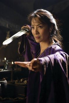 Im a huge fan of this actress Michelle Yeoh