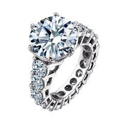 BHJewelers.com  2.00 CARAT ROUND BRILLIANT CUT DIAMOND ENGAGEMENT RING