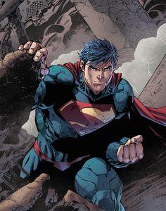 Superman by Jim Lee & Jeremiah Skipper