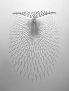 rhubarbes:The peacock chair by uufie.(via uufie fans peacock chair from a single sheet of plastic) Luminaire Design, Lamp Design, Chair Design, Lighting Design, Light Art, Lamp Light, Mini Bar, Luminaire Applique, Peacock Chair