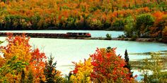 See the beautiful fall colors of Michigan's Upper Peninsula on this day trip | Posted on Roadtrippers.com!