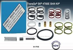 4T65E Transgo shift kit, Fast free shipping to the US