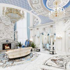 Villa Interior Design in Dubai, Palace in Dubai, Photo 16