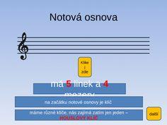 Hudebn vchova Notov osnova, noty, hudebn abeceda slide 1