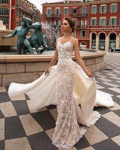 Wedding Dress viero wedding dresses 2019 sheath strapless sweetheart lace with overskirt - Be the most charming and sexy bride in these stunning bridal gowns. Just sit back and enjoy these beautiful photos. Viero wedding dresses 2019 right here! Sexy Wedding Dresses, Bridal Dresses, Wedding Gowns, Dresses Dresses, Party Dresses, Wedding Venues, Wedding Shoes, Wedding Rings, Hair Wedding