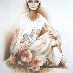 """Moshgan"" Oil on Canvas Poster Deviant Art, Sarah Moon, Sarah Kay, Moon Painting, Iranian Art, Moon Print, Canvas Poster, Belle Photo, Fashion Art"