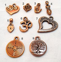 Charms Add One to your Custom Necklace or di OrganicRustCreation, $4.00