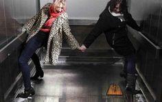 Optische illusie: lift zonder vloer