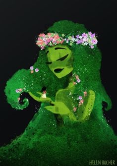 Moana - Te Fiti Canvas Print by helenbucher Moana Disney, Disney Fan Art, Disney Love, Disney Magic, Disney And Dreamworks, Disney Pixar, Walt Disney, Princess Moana, Disney Princess Bedroom