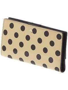 Kate Spade New York Carlisle Street Stacy. I don't need a new wallet but if I did...