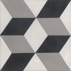 "Found it at AllModern - Mediterranea Dimensions 8"" x 8"" Quarry Hand-Painted Tile in Black/Gray"
