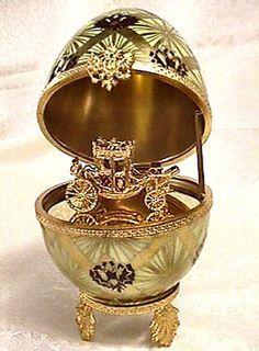 Imperial Coronation Faberge Egg