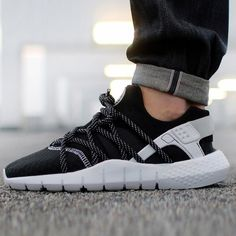"""#copordrop: @Nike Huarache NM ""Black/White"""""