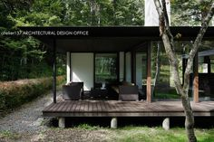 インナーテラス~037軽井沢 I さんの家: atelier137 ARCHITECTURAL DESIGN OFFICEが手掛けたベランダです。