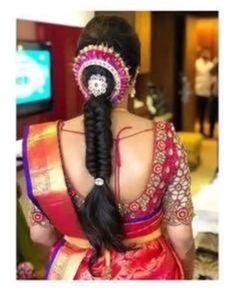 Best Indian bridal hairstyles trending this wedding season! - Kurti Blouse