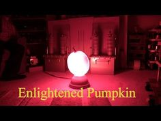 A 5,000-Watt Bulb Will Turn Your Pumpkin Into A Mini Sun