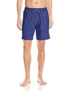 BOSS HUGO BOSS Mens Orca Solid Swim Trunk Medium Blue XXLarge * Locate the offer simply by clicking the image