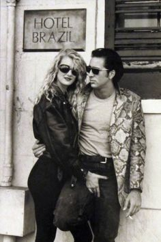 Laura Dern and Nicolas Cage, in Wild At Heart (Sailor et Lula), Directed David Lynch, 1990