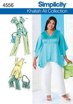 Womens Sportswear Sewing Pattern 4556 Simplicity