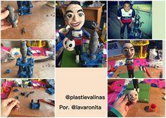 #plastievalinas figura Plastilina barnizada por. @lavaronita