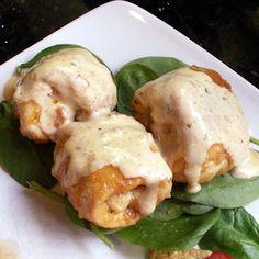 Mom, What's For Dinner?: Mini Chicken Cordon Bleu (gluten free)