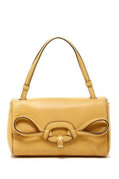 Bag Bazaar  Valentino Piping Bow Handbag