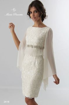 Short Wedding Dresses : Vestidos de Novia de María Picaretta