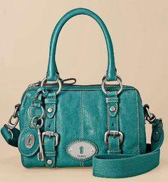 Fossil handbag in a pretty color