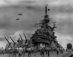 USS Wasp (CV-18), 1945
