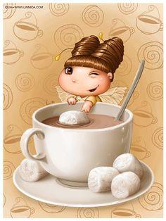 Wanna cocoa? by LiaSelina.deviantart.com on @deviantART