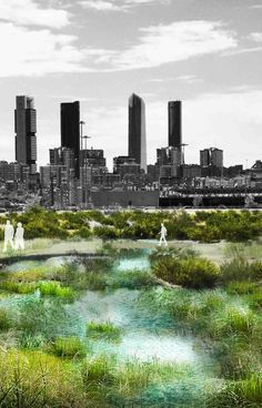 """Arup's Foresight + Research + Innovation, Madrid Sustainability and Master Planning, and Landscape Architecture teams have released Madrid + Natural, a series of guidelines to address climate change within the city.  The forward-thinking report to seeks to provide """"multiple nature-based solutions to regulate Madrid's urban environment and respond to problems like pollution, increased heavy storm events, drought, periods of abnormally hot temperatures, and local biodiversity loss."""