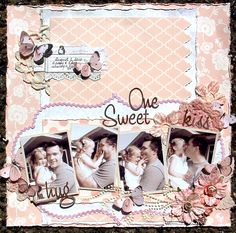 One Sweet Kiss * Scrap That! September Kit * - Scrapbook.com