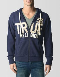 Give your guy a laidback look he will love with this stylish and cozy hoodie. A classic hooded jacket is decked out with applique details for added...#TRholiday13
