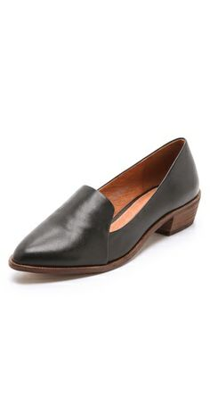 Loving this low heel loafer.