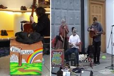 VIDEO: Lively buskers Phat Bollard bring festive cheer to Exeter - http://streetiam.com/video-lively-buskers-phat-bollard-bring-festive-cheer-to-exeter/
